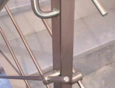 Barriera acciaio inox